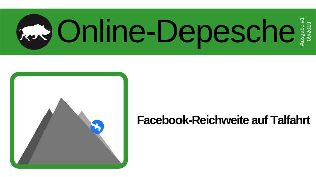Wo ist die organische Reichweite von Unternehmensseiten bei Facebook hin?
