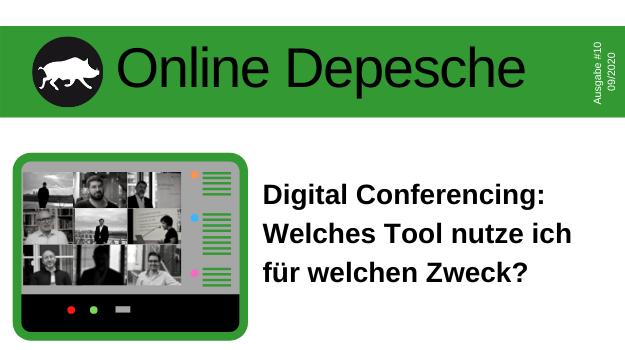 Willkommen im Dschungel der Digital Conferencing Tools