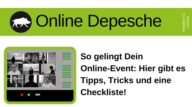 Digitale Veranstaltungen: Vor-und Nachteile, Tipps und Tricks auf einen Blick